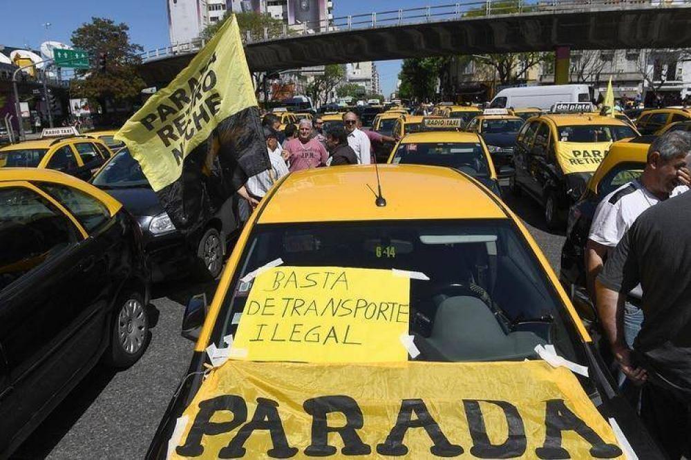 Taxistas volverán a movilizarse y se espera caos de tránsito en distintos puntos de la Ciudad de Buenos Aires