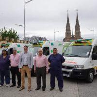 Llegaron las primeras ambulancias para el SAME
