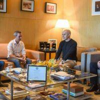 Larreta y Santilli recibieron al legislador y excandidato de izquierda Gabriel Solano