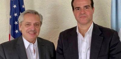 Alberto Fernández se reunió con un hombre clave de Donald Trump: hablaron del FMI y de la deuda