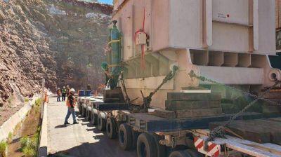 Enel presta un equipo para una hidroeléctrica que falló durante el apagón