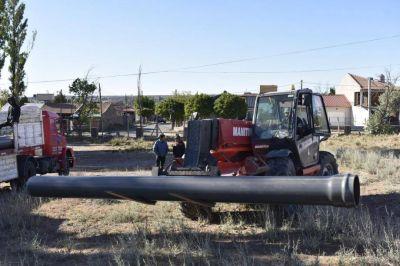 Reconectaron el caño que dejó a Plaza Huincul sin agua potable