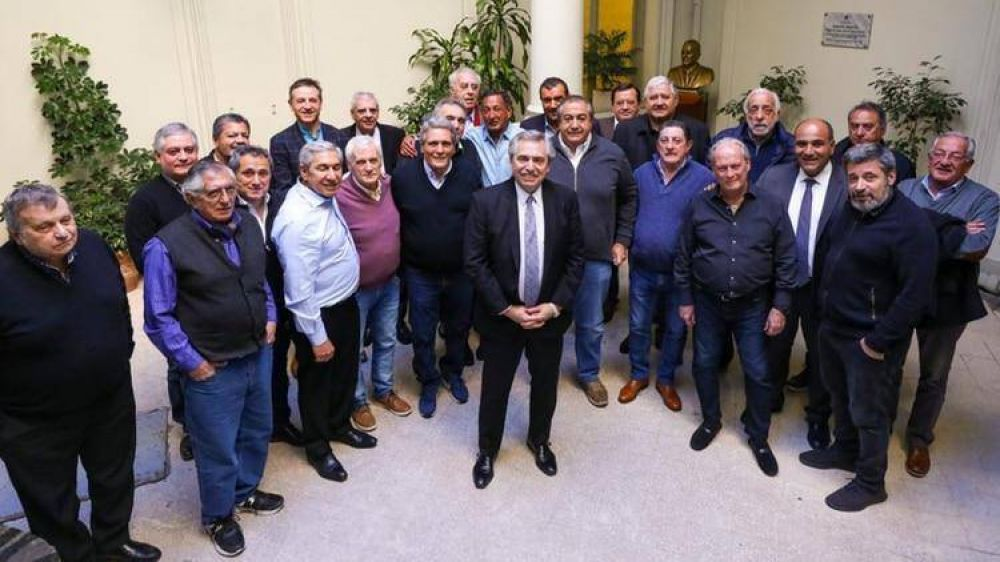 La CGT recibirá hoy a Alberto Fernández con señales de unidad sindical