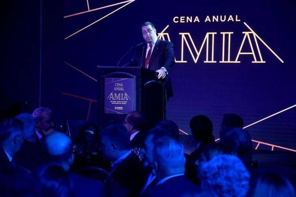 La AMIA instó al próximo gobierno a continuar en la lucha contra el terrorismo