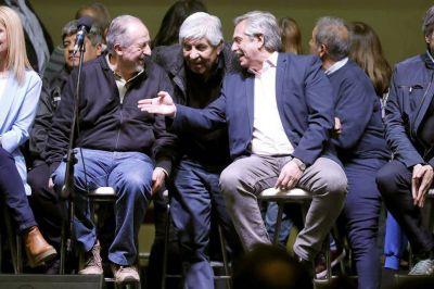 Fernández le pide a la CGT una tregua hasta que se reactive la economía