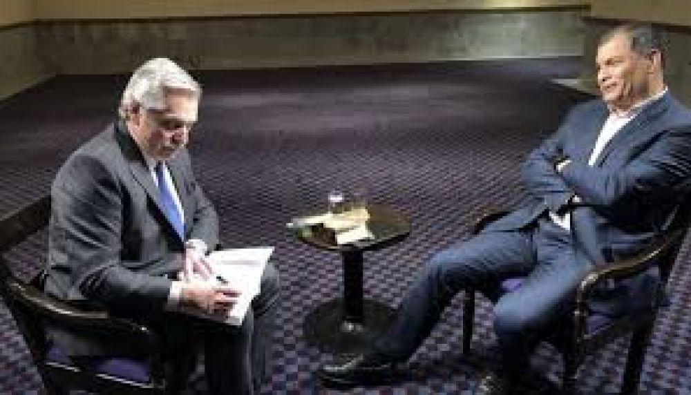 """Alberto Fernández: """"No podemos pagar la deuda en las condiciones que está Argentina"""""""