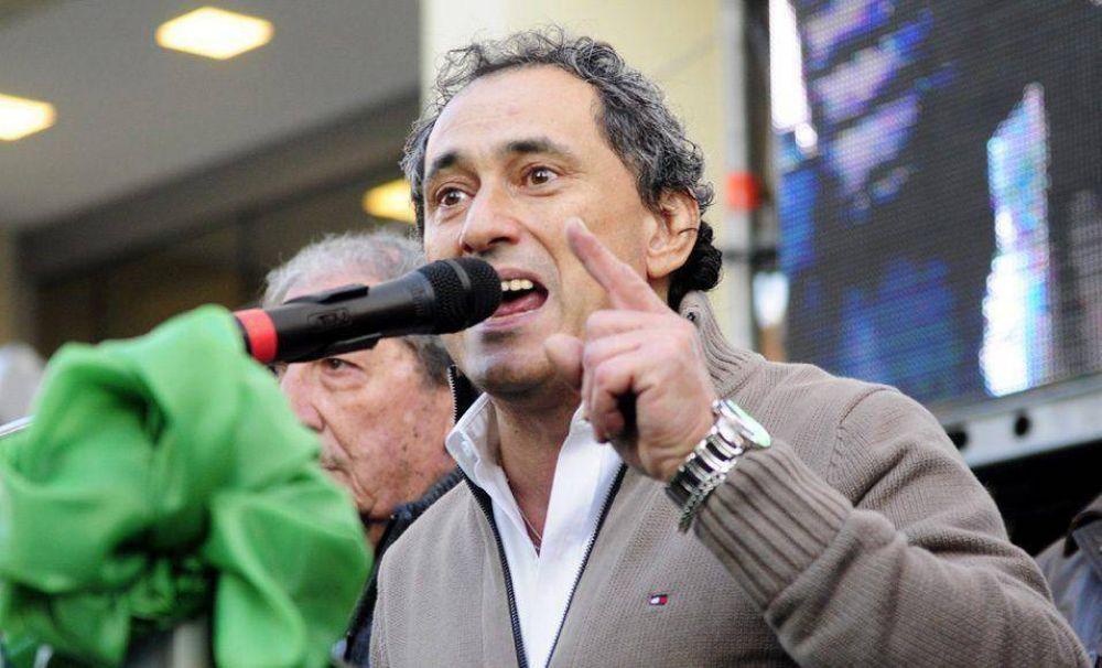 """Sasia: """"Alberto va a ser muy importante para la unidad del movimiento obrero"""""""
