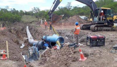 Concluyen obra hídrica sobre el río Guerrero