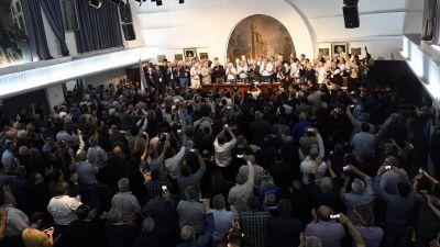 Las perlitas de la visita de Alberto Fernández a la CGT