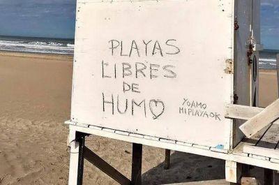 El Concejo Deliberante de Pinamar aprobó una Ordenanza que prohíbe fumar en todas sus playas