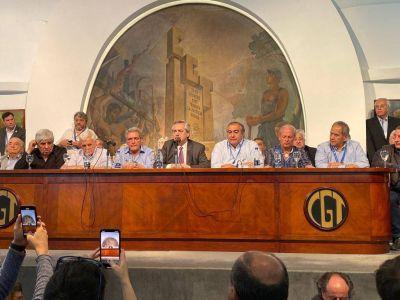 Macri lo hizo: con Alberto hacia la unidad de la CGT