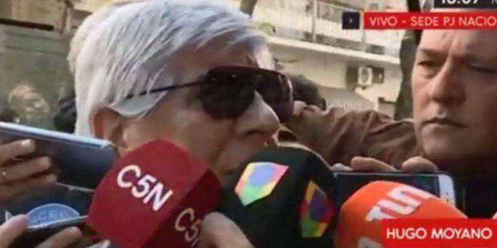 Hugo Moyano: «Gracias a Dios Macri se va, no se aguantaba más su política de hambre»