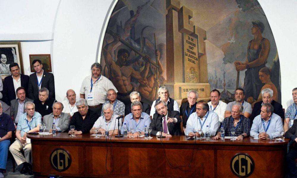 Con un baño de unidad, Fernández ató al sindicalismo a su gobierno