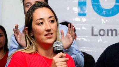 """Marina Lesci: """"El gran apoyo del vecino a Martín Insaurralde tuvo un crecimiento que jamás se detuvo"""""""
