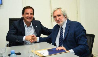 Escobar firmó un nuevo convenio para la construcción del Polo Judicial