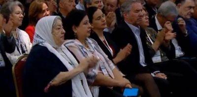 Quiénes fueron a escuchar a Alberto Fernández en su discurso en el Grupo de Puebla