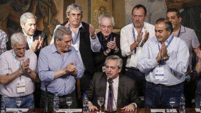 Uno por uno, quiénes son los sindicalistas que respaldaron a Alberto Fernández