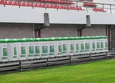 Se instalarán 100 contenedores para residuos reciclables en el estadio de Estudiantes de La Plata