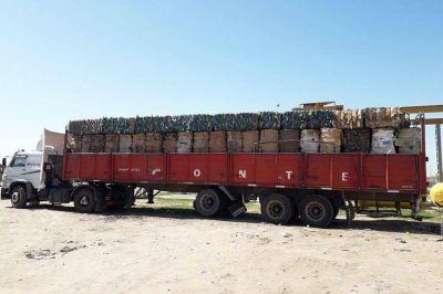 Rufino: más de 14.000 kilos de plástico vendido de la planta de reciclado