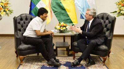 Alberto Fernández expresó su apoyo a Evo Morales