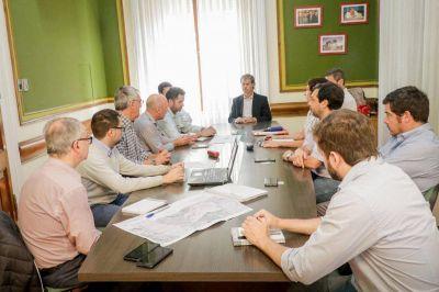 Ampliación planta de tratamientos: reunión por el armado de los pliegos