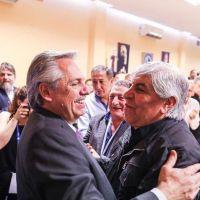 Qué decía el misterioso mensaje de Hugo Moyano a Alberto Fernández