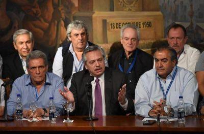 """Hugo Moyano: """"A Alberto Fernández no le vamos a hacer un conflicto"""""""
