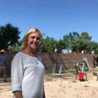 Monte: Mayol dio inicio a la obra del nuevo jardín del Barrio Salinas