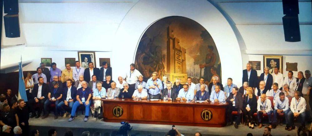 La opinión de los sindicalistas de CGT tras la reunión con Alberto