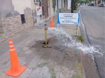 ASSA inicia limpieza de redes de agua potable