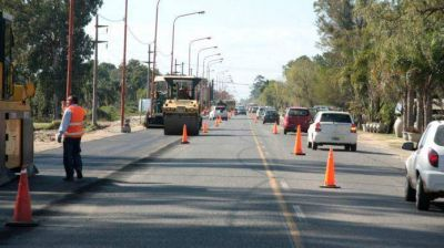 Avanzan con buen ritmo las obras hídricas y viales en la Ruta 1