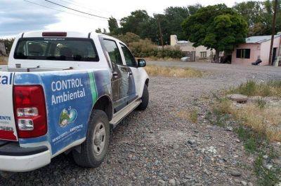 Investigan efluentes pesqueros en red cloacal de Rawson
