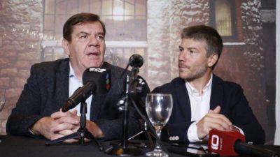 """Montenegro presentó a Bonifatti: """"No es un pase, queremos conformar el mejor equipo"""""""