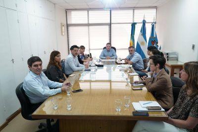 Fernando Gray se reunió con el coordinador de la Red de Salud Pública del AMBA