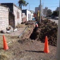 Agua Potable finalizó nueva red de agua para vecinos del Barrio Coronel Arias