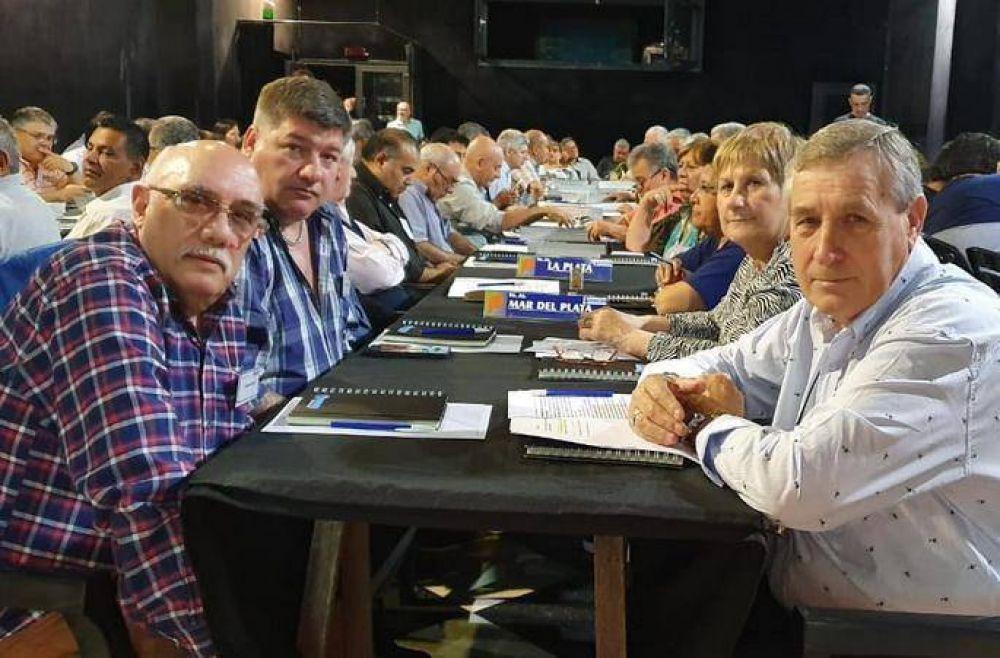Juan Domingo Rodríguez encabezó delegación marplatense en el 76° Congreso de Suter y H