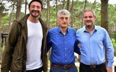 Intendentes de Gesell, Pinamar y Madariaga se reunieron para acordar políticas regionales
