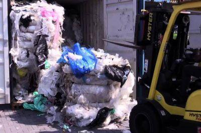 El gobierno aprobó el procedimiento de importación de basura
