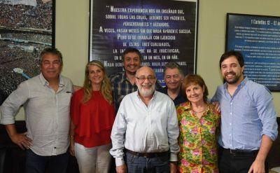 Gremios presentaron a Máximo Kirchner un programa de 15 puntos para el acceso a la salud