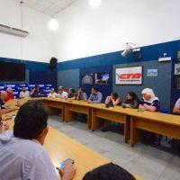 Se conformó en la CTA el comité de solidaridad con Bolivia y marcha el 18