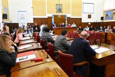 Por mayoría, el Concejo rechazó el veto por un vallado en Playa Grande