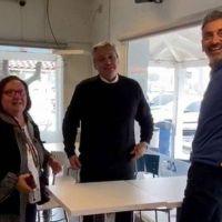 Florencio Randazzo almuerza con Emilio Monzó, el regreso de Berni y la jubilación de Miguel Pichetto