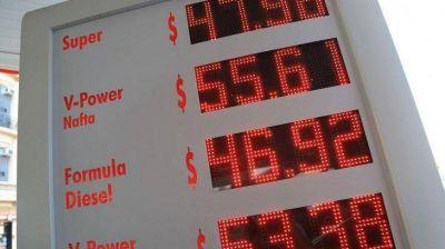 Cómo quedó la brecha de precios de los combustibles entre Capital y el interior con el nuevo aumento