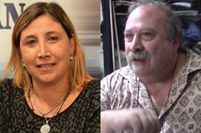 Sandra Antenucci y Juan Gamba nuevos funcionarios