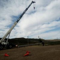 Obras de agua y energía para Caleta Olivia
