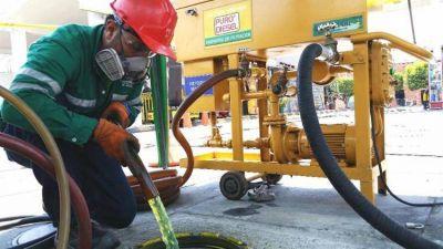 AXION energy implementó un innovador sistema de limpieza de tanques en Estaciones de Servicio