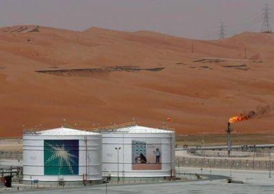 Exportaciones de crudo saudí bajan a 6,67 mln bpd en septiembre