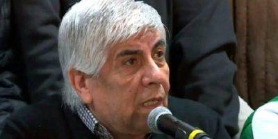 Hugo Moyano: «Algún día vamos a tener un hombre nacido en las filas del trabajo en Balcarce 50»