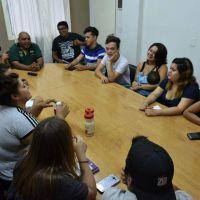 """Los jóvenes de Merlo eligieron a sus representantes para integrar el """"Parlamento joven"""""""