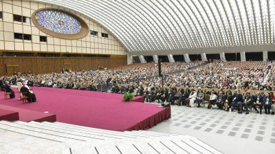 El Papa a Células Parroquiales: El encuentro, principal camino de evangelización